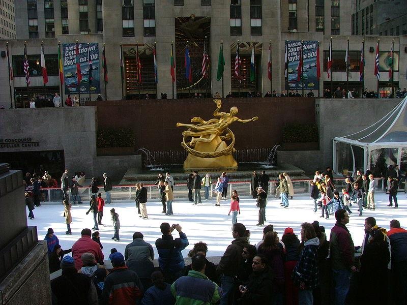 Rockefeller Eisbahn Ice Rink